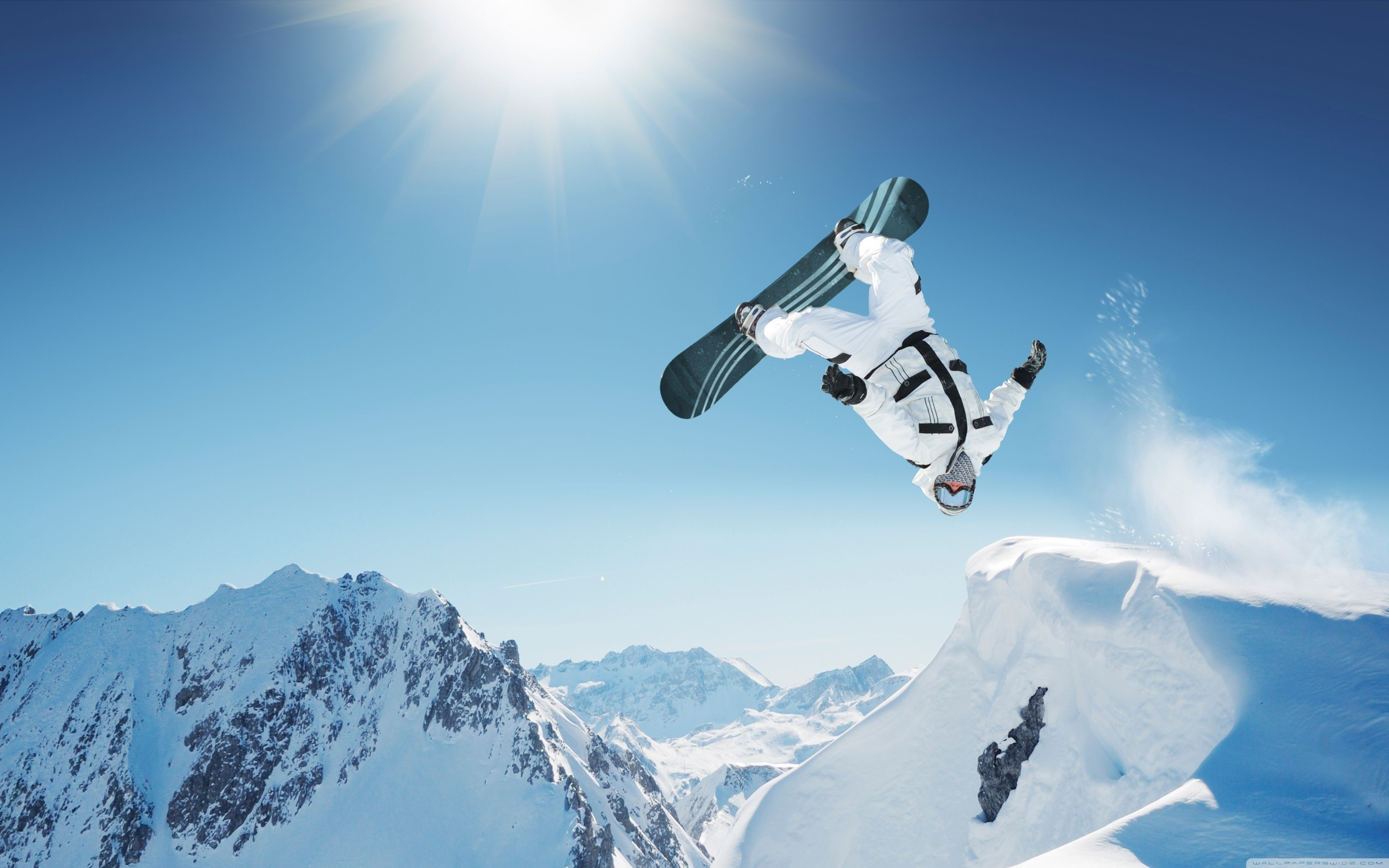 guy on snowboard